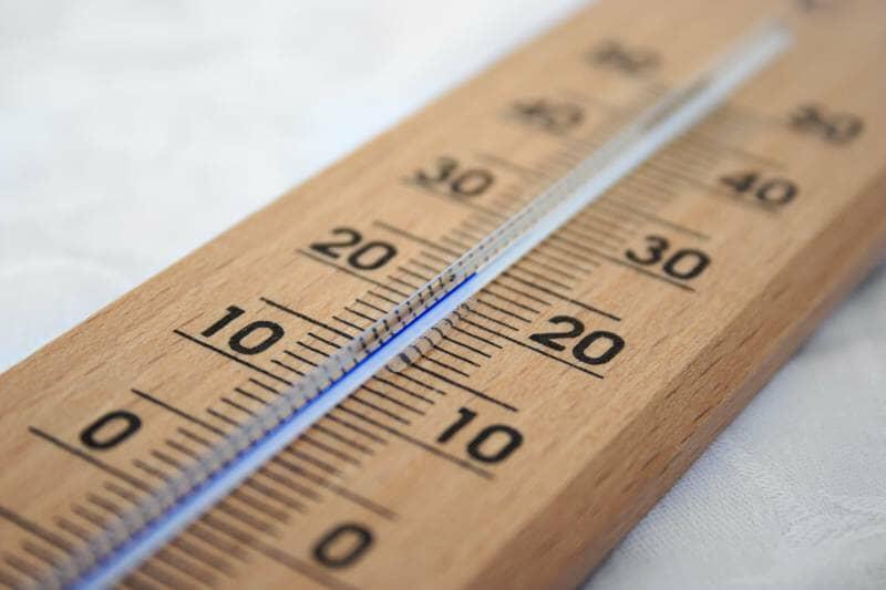 thermomètre à 24 degrés