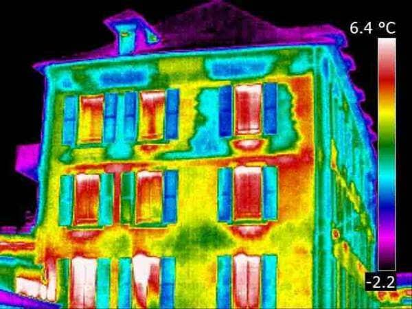 La thermographie révélée par l'infrarouge
